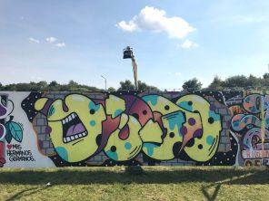 Spektrum 2017_Grossstatttraum Corner_Graffiti Jam_Yugo