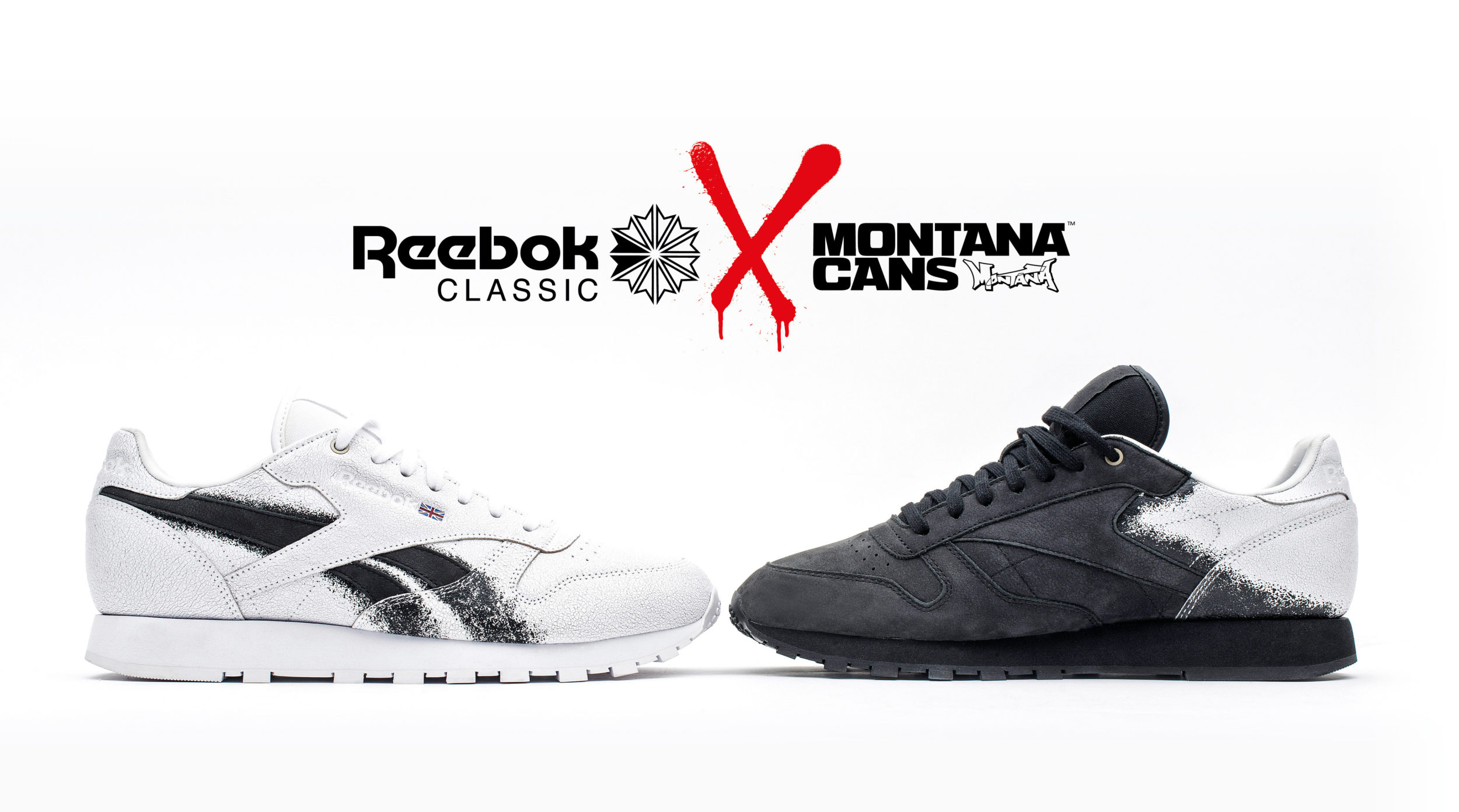 70ae6f05416 Reebok Classic x Montana Cans Collabo Fall Winter 2017