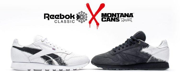 Reebok Classic x Montana Cans Collabo Fall Winter 2017