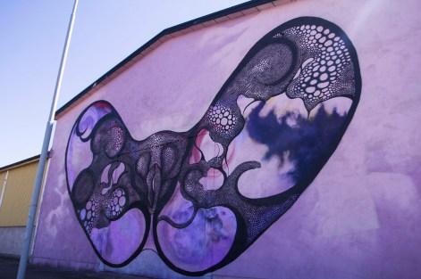 Untitled firewall, Ystad, Sweden 2015