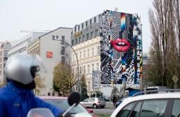 Berlin on mass Anna T-Iron Felipe Pantone