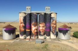 Silo Art Trail Featuring Matt Adnate