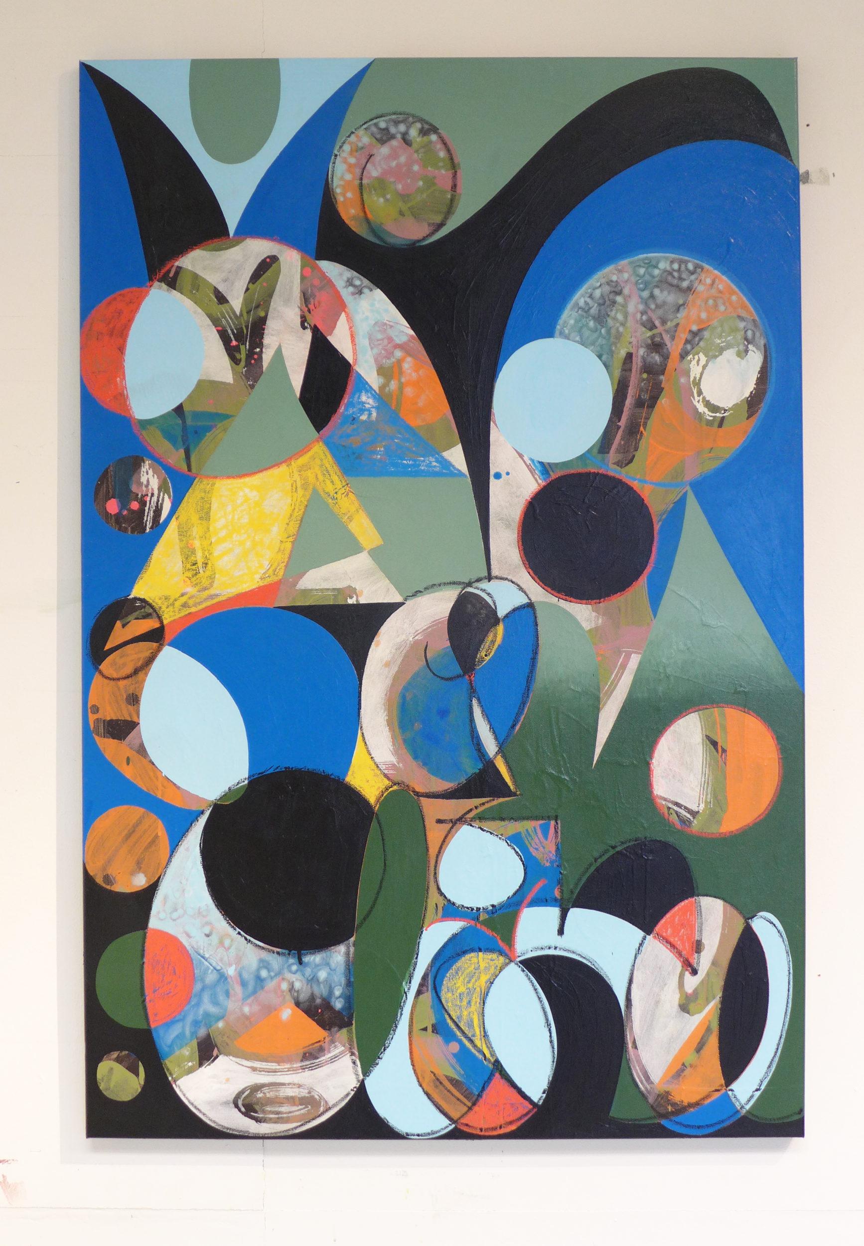 Mina, Untitled, 2018, Acrylic on canvas, 80x120cm_2