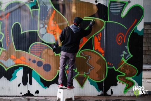 HARD2BUFF #12 featuring graffiti writer CORA – GRAFFITI IN ITALY