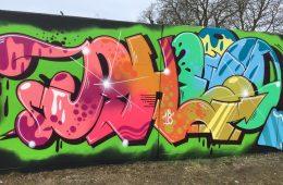 WALL UPDATE BY GRAFFITI WRITER PHEO PART II