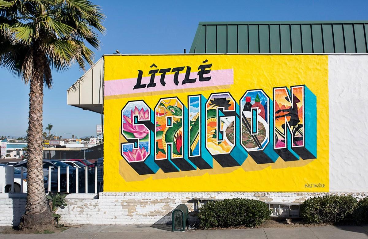 GREETINGS TOUR FROM LITTLE SAIGON