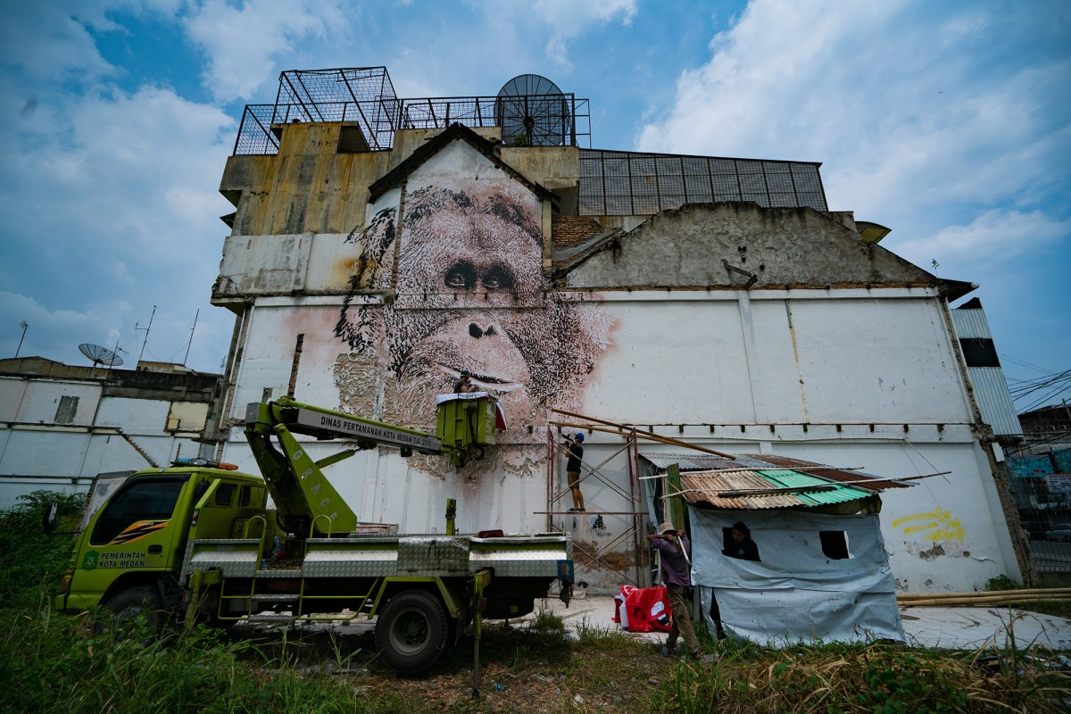 Alexandre Farto aka VHILS in Progress