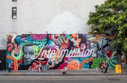 Tristan Eaton at Bowery Wall INTERMISSION