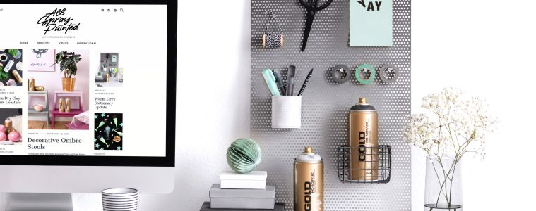 ALLSPRAYPAINTED.COM - SOPHISTICATED DIY BY MONTANA-CANS