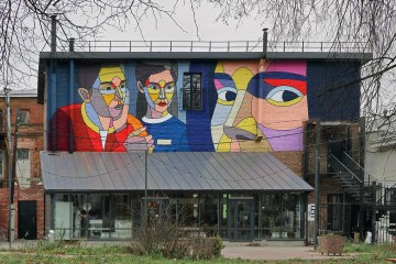 New Mural by Dmitri Aske
