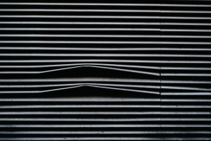 BLACK WINDOW BLIND