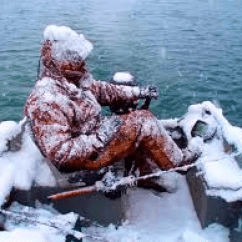 Big Man Chairs Chair Covers And Bows Rental Ice Fishing=death By Hypothermia (by The Camo Queen) | Montana Hunting Fishing