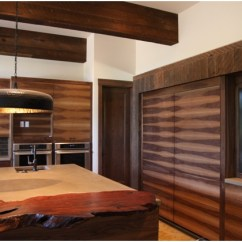 Kitchen Designs On A Budget Roll Towels Mountain Modern-ranchwood™ Siding, Beams, And Interior ...