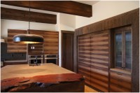 Mountain Modern-ranchwood Siding, Beams, and Interior ...