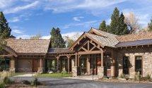 Cedar Timber And Stone Homes Joy Studio Design