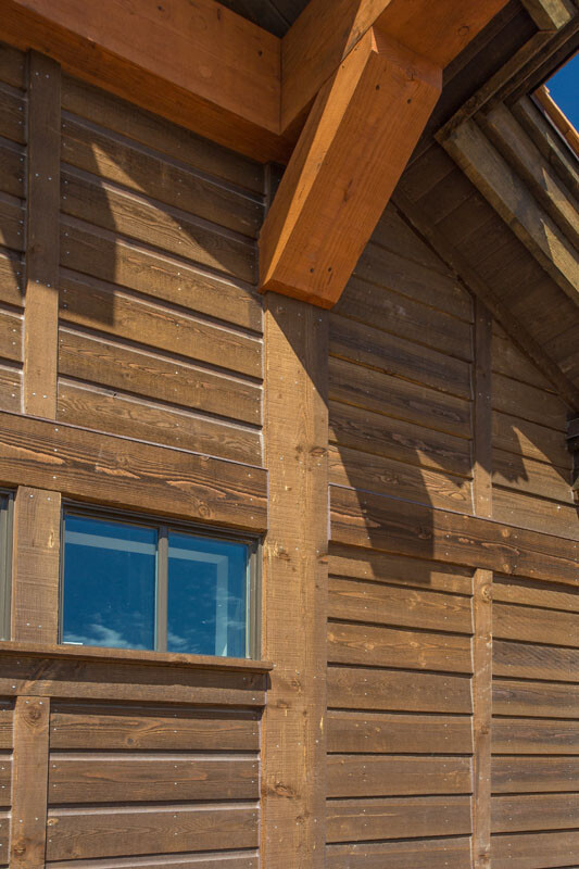 Mountain Traditional Architecture at New Golf Resort