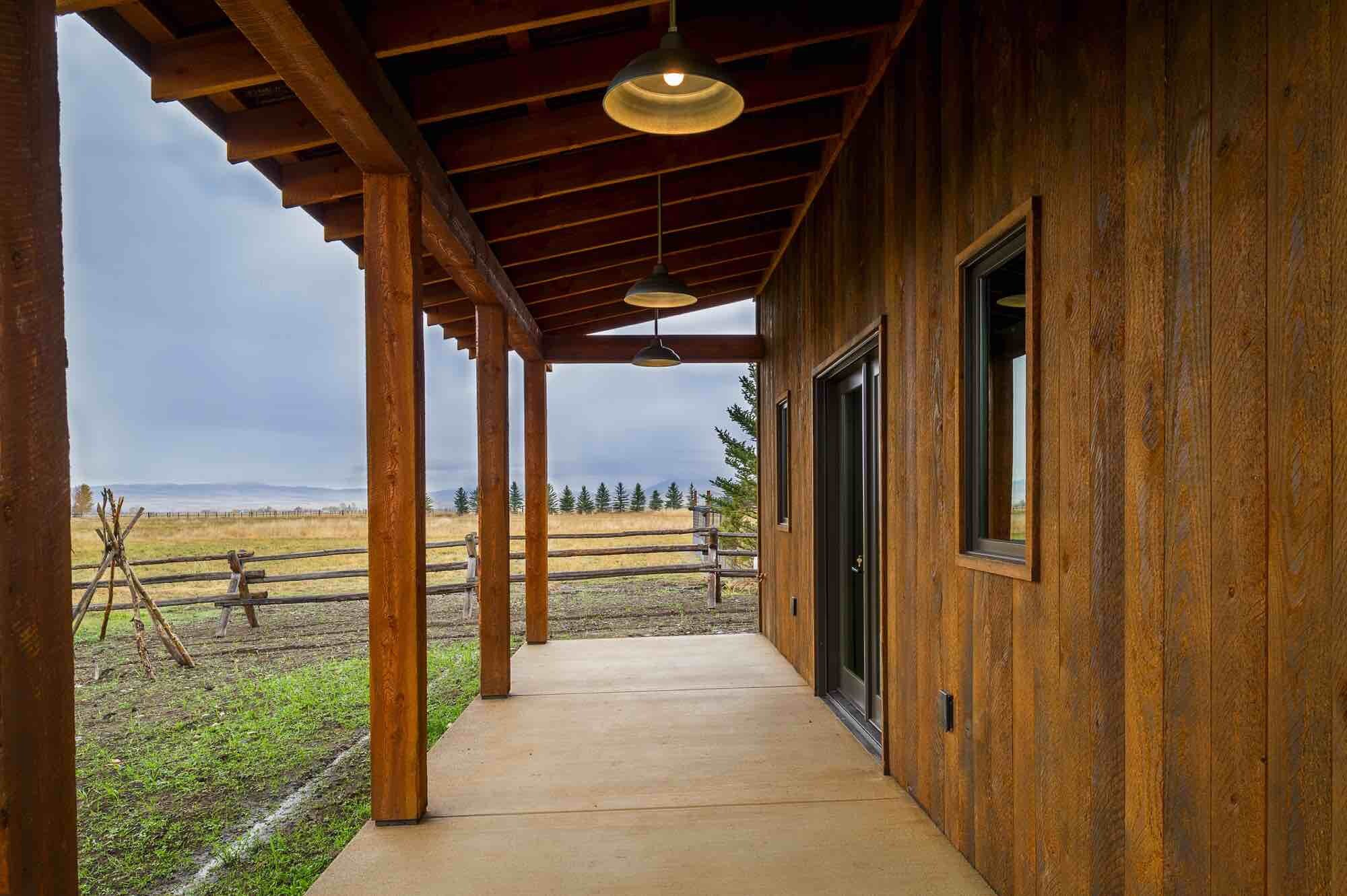 ranchwood Shiplap Siding and Doug Fir Timbers  Montana