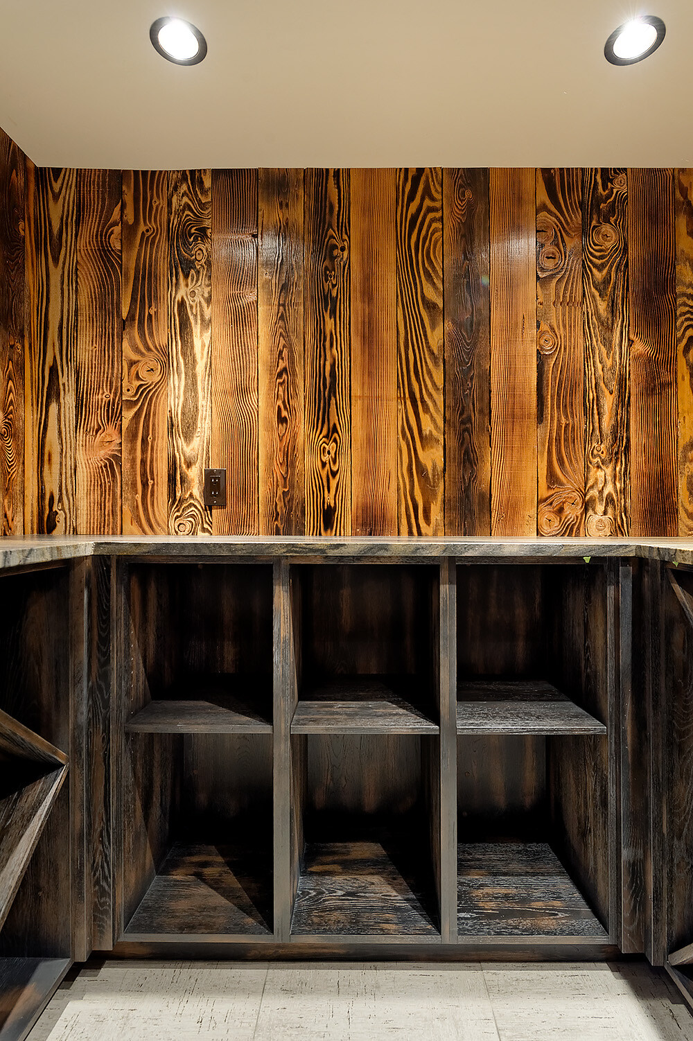 Charwood Tiger ShouSugiBan interior design by Montana
