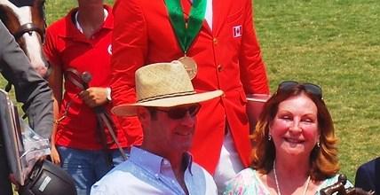 Ben Asselin con Jonathan y Nancy