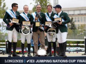 Irlanda campeón de Copas de Naciones, y van a Tokio