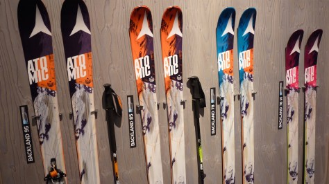 La nouvelle série de skis ATOMIC Backland