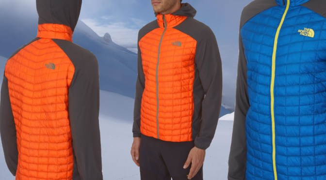 Thermoball : nouvelle doudoune synthétique THE NORTH FACE