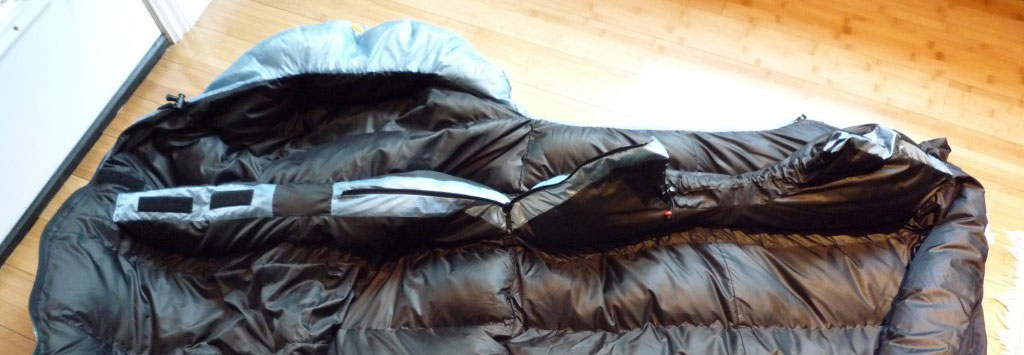 Test sac de couchage Valandré Shocking Blue Neo I Trekkings