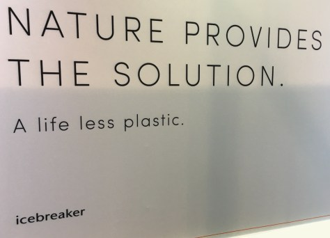 NATURE PROVIDES THE SOLUTION : A life less plastic.