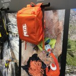 Sac à corde Petzl KLIFF orange de 36L