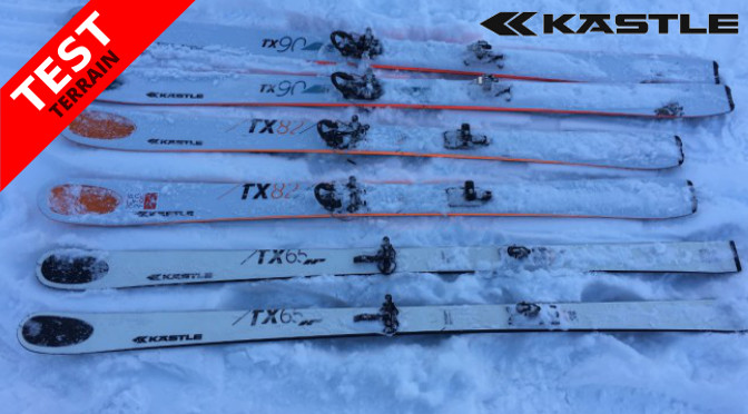 Test Skis Kastle TX à Aoste
