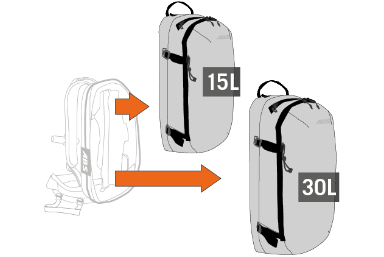 Sac abs airbag : concept variable