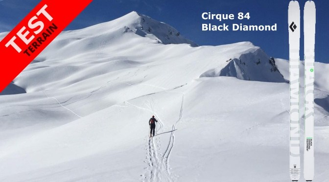 Avis et test du ski de rando Black Diamond Cirque 84