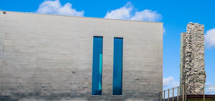 building facade materials aluminium or