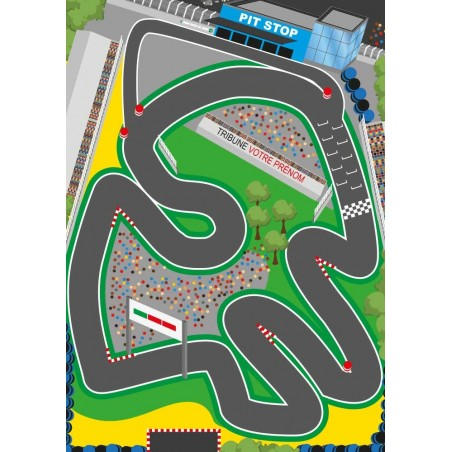 tapis circuit voiture