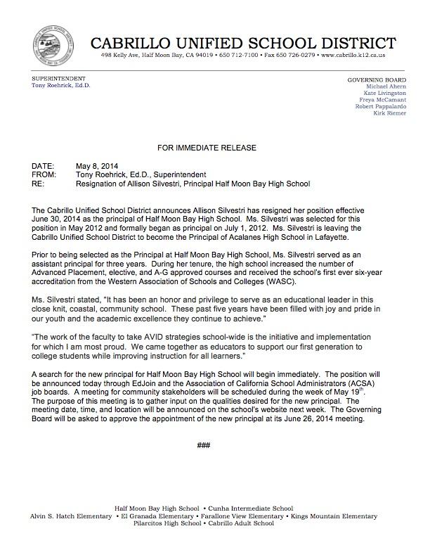 Press Release-Silvestri