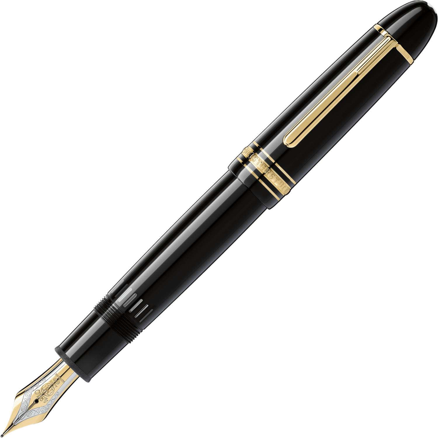 Image result for Montblanc Meisterstuck 149 Fountain Pen Gold & Black