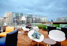 Aviary rooftop bar london