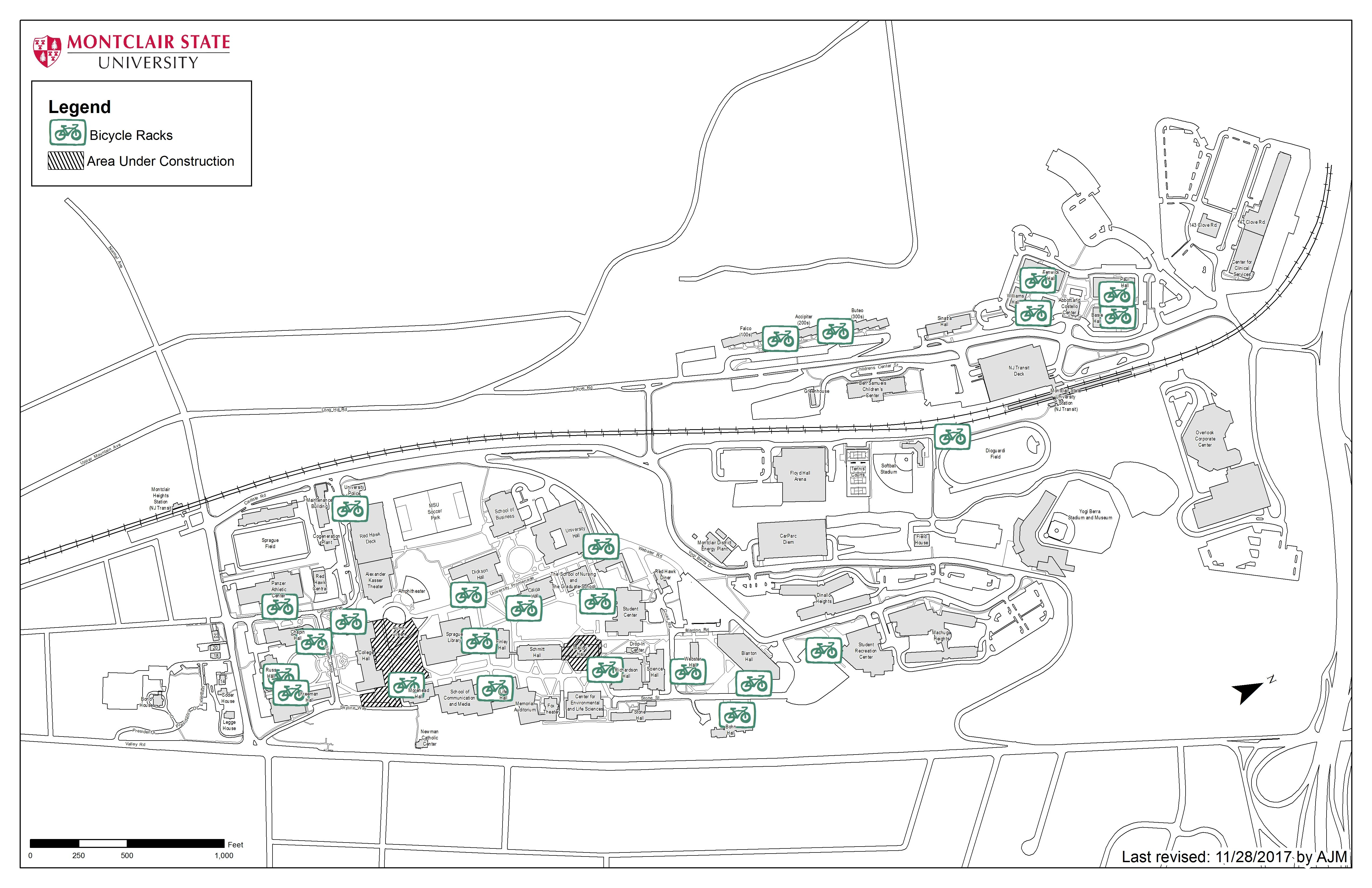 Campus Access & Maps