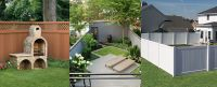 Fence ideas for small backyard, how to build wood ...