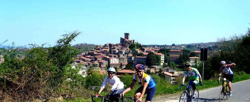 In bicicletta sul Monte Amiata in Toscana