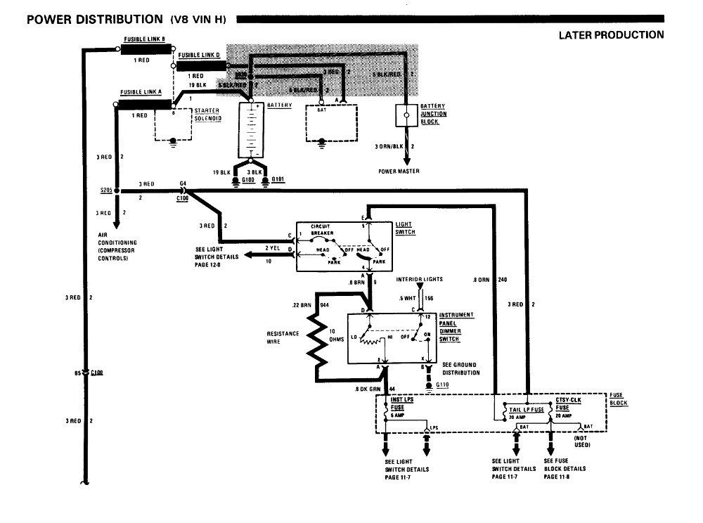 '86 Chevrolet B & G Body Service Manual