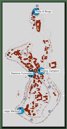 Mappa Montecatini Alto