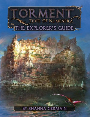 Torment Tides of Numenera The Explores Guide -  Monte Cook Games