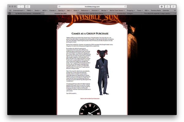 InvisibleSunRPG screen shot