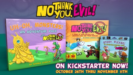 No Thank You, Evil! The Adventures Continue Kickstarter 2