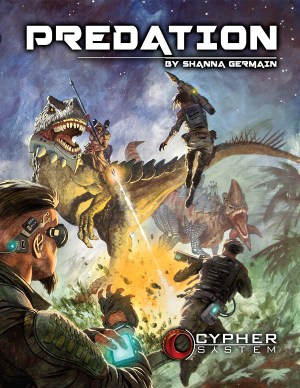 Cypher System Predation -  Monte Cook Games