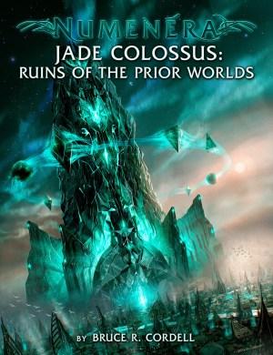Numenera Jade Colossus - Monte Cook Games