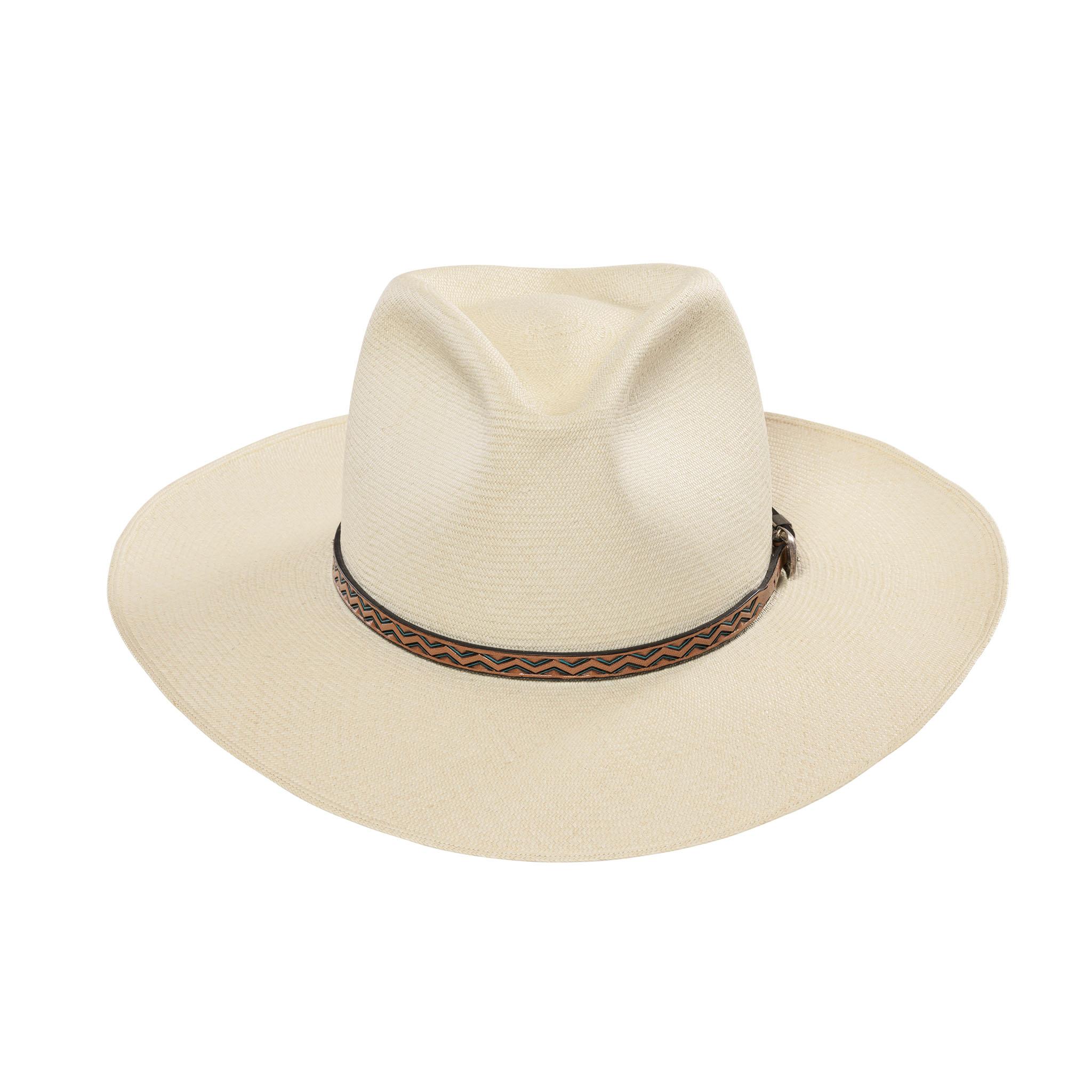 Three Point Dress Wide Panama Hat