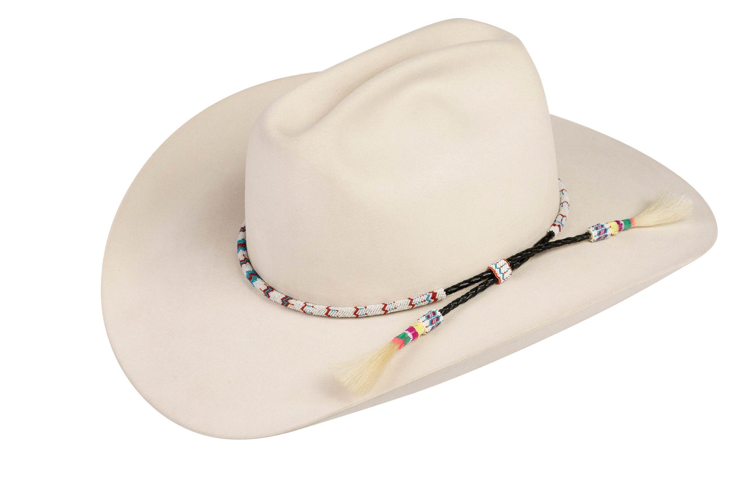 Chief Davis Peyote Stitch Hat Band
