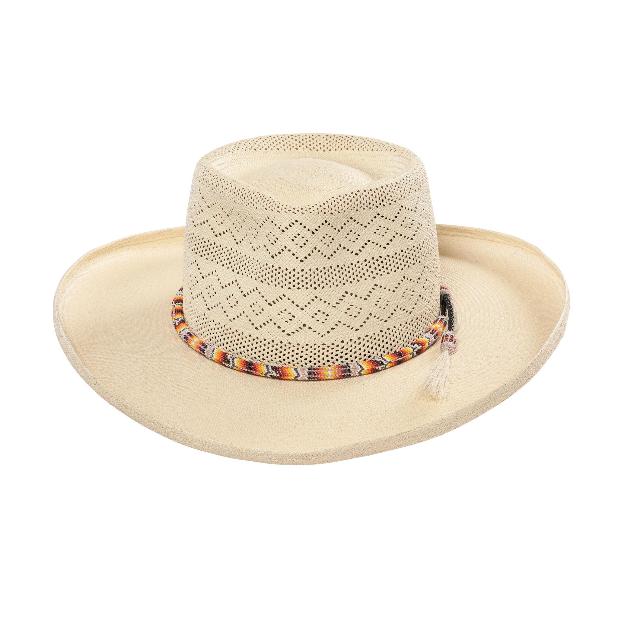 Cuenca Semi-Calado Gambler Panama Hat